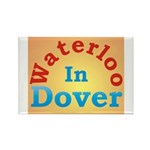 Waterloo In Dover Rectangle Magnet