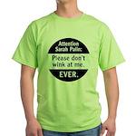 Sarah Palin: Don't Wink At Me Green T-Shirt