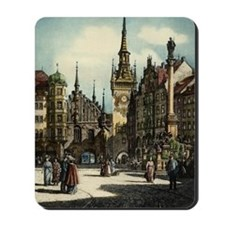 Old Munich Cityscape Mousepad