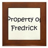 Unique Fredrick Framed Tile