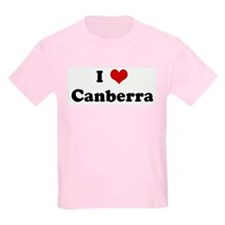 I Love Canberra T-Shirt
