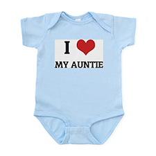 I Love My Auntie Infant Creeper