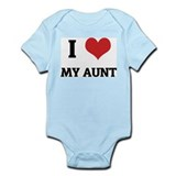 I Love My Aunt Infant Creeper