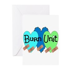 Burn Unit Nurse Greeting Cards (Pk of 20)