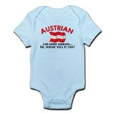 Good Lkg Austrian 2 Infant Bodysuit