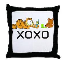 XOXO Pooky Throw Pillow