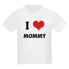 I Love Mommy Kids T-Shirt