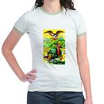 An American Thanksgiving Jr. Ringer T-Shirt