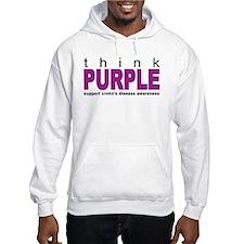 Think Purple: Crohn's Disease Hoodie
