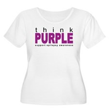 Think Purple: Epilepsy T-Shirt