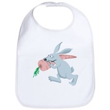 Rabbit Cartoon Bib