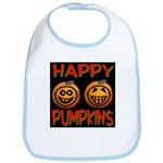 Happy Pumpkins Bib