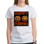 Happy Pumpkins Women's T-Shirt