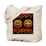 Happy Pumpkins Tote Bag