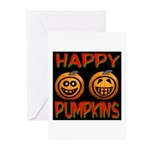 Happy Pumpkins Greeting Cards (Pk of 20)