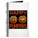 Happy Pumpkins Journal