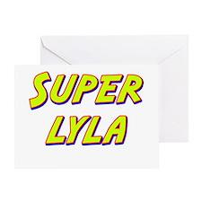 Super lyla Greeting Card
