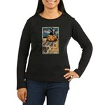 Joyous Halloween Women's Long Sleeve Dark T-Shirt