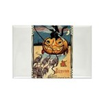 Joyous Halloween Rectangle Magnet (100 pack)