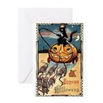 Joyous Halloween Greeting Card