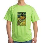 Joyous Halloween Green T-Shirt