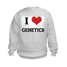 I Love Genetics Sweatshirt