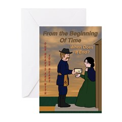 The endless agony Greeting Cards (Pk of 10)