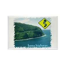 Hana Highway Rectangle Magnet (10 pack)