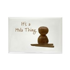 It's a Hula Thing Rectangle Magnet (10 pack)