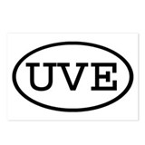 UVE Oval Postcards (Package of 8)