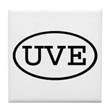 UVE Oval Tile Coaster