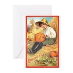 Pumpkin Carving Greeting Cards (Pk of 10)