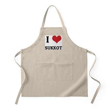 I Love SUKKOT BBQ Apron