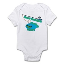 Great Grandpa's Fishing Buddy Infant Bodysuit