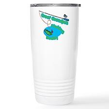 Great Grandpa's Fishing Buddy Ceramic Travel Mug