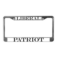 Liberal Patriot License Plate Frame