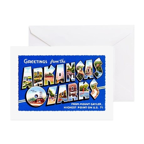 Arkansas Ozarks Greetings Greeting Cards (Pk of 10