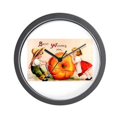 Good Thanksgiving Wall Clock
