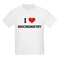 I Love Biochemistry Kids T-Shirt