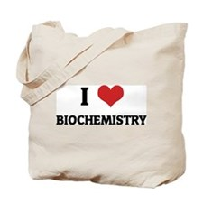 I Love Biochemistry Tote Bag