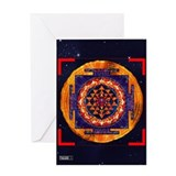 Shri Yantra Greeting Card