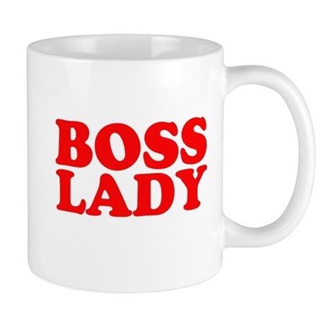 BOSS LADY RED Mug