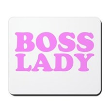 BOSS LADY BABY PINK Mousepad