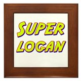Super logan Framed Tile