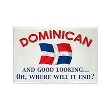 Good Lkg Dominican 2 Rectangle Magnet