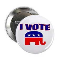 "I Vote 2.25"" Button (10 pack)"