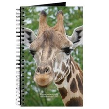 Giraffe Head Journal