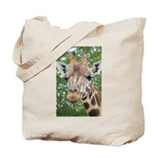 Giraffe Head Tote Bag