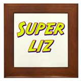 Super liz Framed Tile