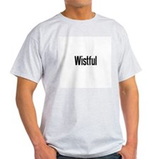 Wistful Ash Grey T-Shirt